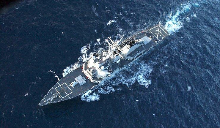 米国のイージス艦