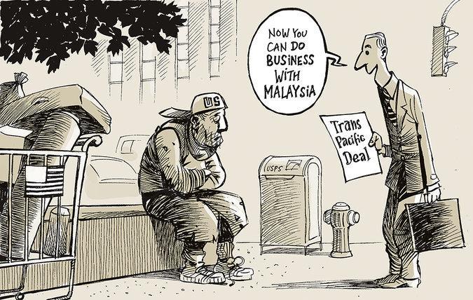TPP風刺画