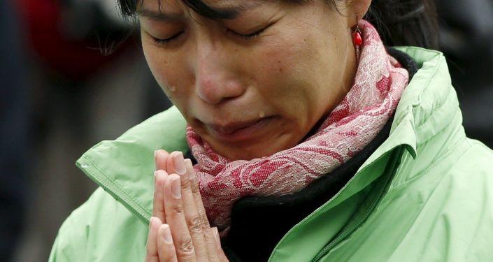 津波震災者 追悼式典