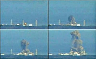 フクシマ3号機 爆発