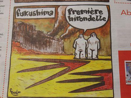 フランス 福島原発事故 風刺画
