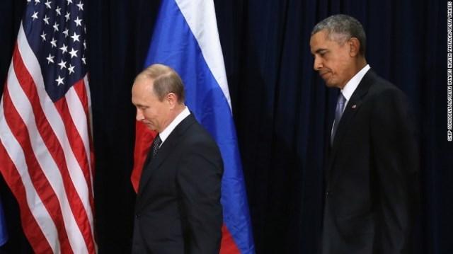 プーチンとオバマ